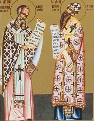 Sts_Athanasios_and_Cyril_Patriarchs_Of_ Alexandria