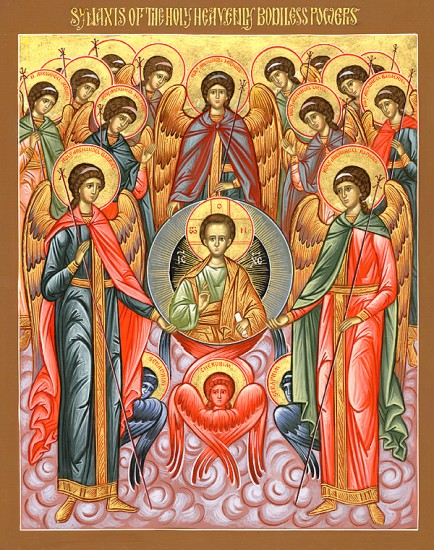 Synaxis of the Archangels Michael, Gabriel, Rafael, and the Other Bodiless Powers
