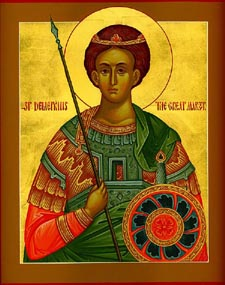 Holy, Glorious Demetrius the Myrrhgusher of Thessalonica Liturgy